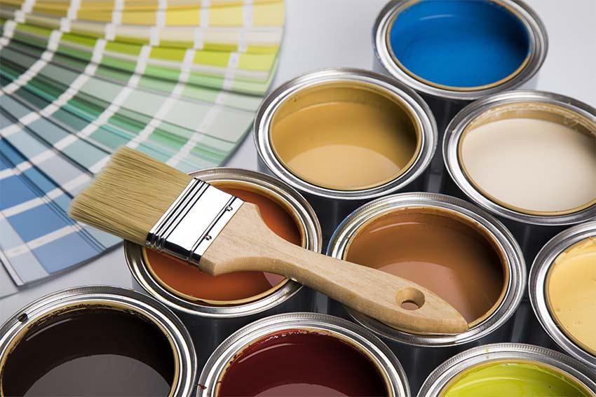 Farbpalette und Auswahl an Farben in Neuss
